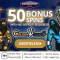 Jackpot City - 50 Spins & $/€1600 Bonus