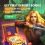 Slot Hunter Casino - 200 Spins & €500 Bonus