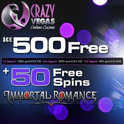 Crazy Vegas 50 Free Spins