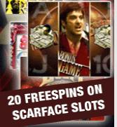 Scarface 20 free spins
