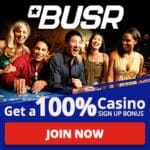 BUSR Casino - $2,500 Welcome Bonus
