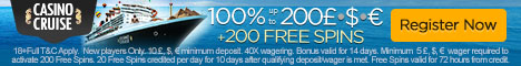 Cruise Casino Bonus