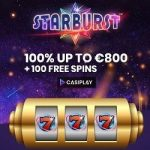 Casiplay Casino - 100 Spins & €800 Bonus