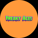 "Freaky Aces: 50 Free Spins on ""Vegas Wins"" - July 2020"