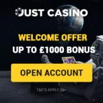 Just Casino - £1000 Welcome Bonus