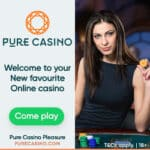 Pure Casino - 100% Welcome Bonus