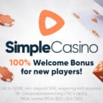 Simple Casino - €500 Welcome Bonus